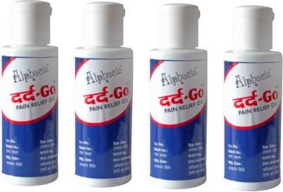 Alphacia Dard Go Pain Relief Oil Pack of 4 Liquid(240 ml)