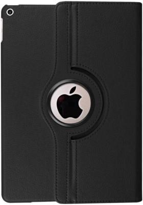 Aspir Book Cover for Apple iPad (6th Gen) 32 GB 9.7 inch(Black Rotator, Rubber, Plastic)