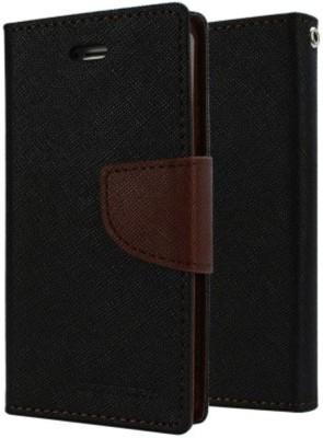 EPAQT Flip Cover for Oppo F3 Brown, Cases with Holder