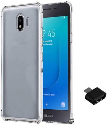 TBZ Cover Accessory Combo for Samsung Galaxy J2 Core Transparent