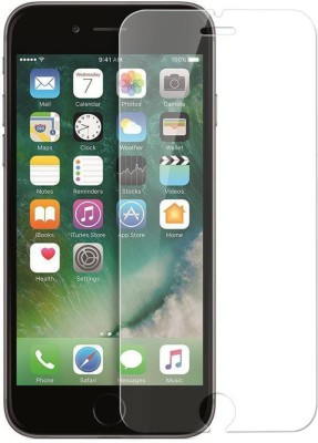 PAV Tempered Glass Guard for Apple Iphone 6 / Apple Iphone 6s Full Screen Coverage - White Colour(Pack of 1)