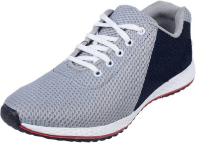 GSTM Synthetic Sports Shoes For Mens And Boys Running Shoes For Men(Grey)