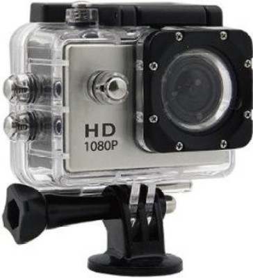 RapGear Action Camera BM400 Action Camera 12MP 1080P H.264 1.5 inch 140?? Wide Angle Lens Waterproof Diving(Upto 30m) Sport Camcorder Sports and Action Camera(Black 12 MP) 1