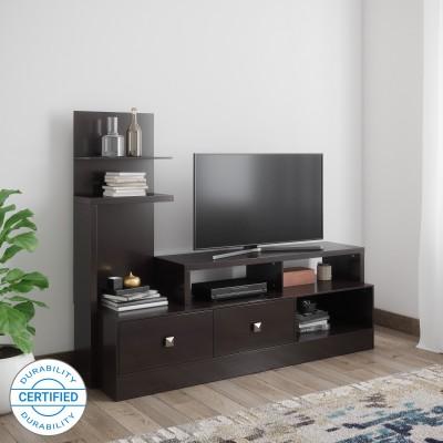 Valtos Engineered Wood TV Entertainment Unit(Finish Color - Wenge)