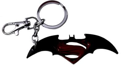 FCSS Superman Logo Metal Locking Carabiner(Black, Red)
