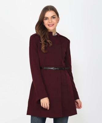Marks & Spencer Cotton blended Solid Coat