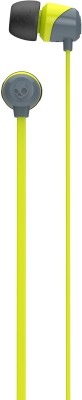 Skullcandy S2DUFZ-385 JIB In Ear Earphones Without Mic (Yellow and Grey) Without Mic