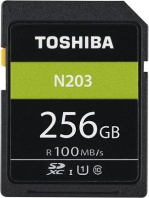 Toshiba N203 256 GB SDHC Class 10 100 MB/s  Memory Card at flipkart