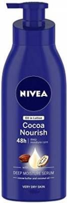 Nivea Cocoa Nourish Oil in Lotion