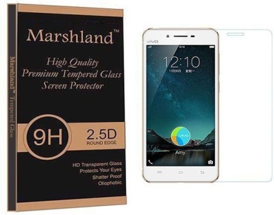 Marshland Tempered Glass Guard for Vivo X6 plus Pack of 1 Marshland Screen Guards