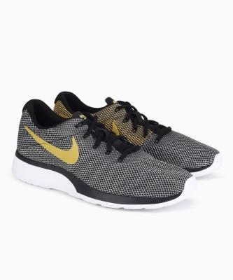 Nike TANJUN R Running Shoes For Men(Black, Yellow) 1