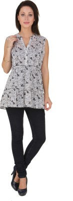 Voila Casual Sleeveless Floral Print Women