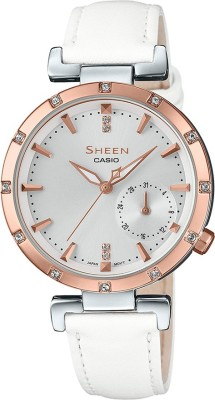 Casio SX226 Sheen Analog Watch  – For Women