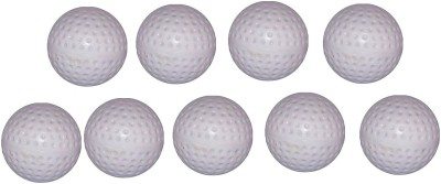 Arnav Superior Quality White Dimple Turf Ball for Practice and Match Hockey Ball(Pack of 9, White)