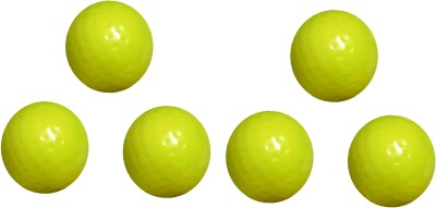Arnav Superior Quality Yellow Dimple Turf Ball for Practice and Match Hockey Ball(Pack of 6, Yellow)