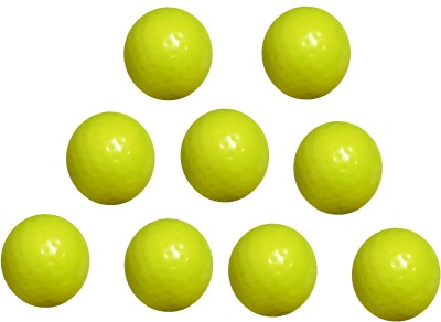 Arnav Superior Quality Yellow Dimple Turf Ball for Practice and Match Hockey Ball(Pack of 9, Yellow)