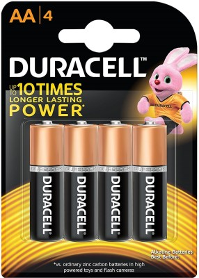 Duracell AA MN1500 - LR6  Battery(Pack of 4)