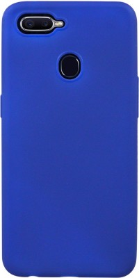 COVERNEW Back Cover for OPPO CPH1809  OPPO A5  2018 EDITION  Blue, Dual Protection COVERNEW Plain Cases   Covers