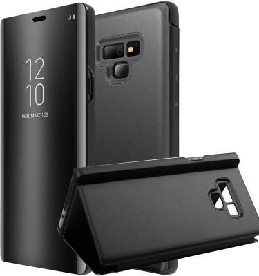 Winkel Flip Cover for Samsung Galaxy Note 9(Crystal Black)