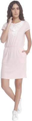 Vero Moda Women Blouson Pink Dress