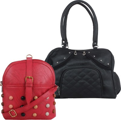5c10cc2f12 2% OFF on President Attractive Black   Red Sling Bag on Snapdeal ...