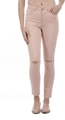 Aeropostale Slim Women Pink Jeans