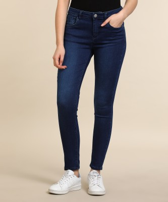 Flying Machine Skinny Women Dark Blue Jeans