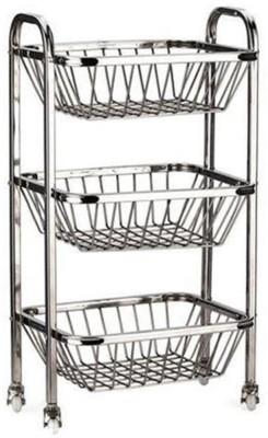 Confiado Stainless Steel Kitchen Rack(Steel) at flipkart