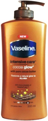 Vaseline Intensive Care Cocoa Glow Body Lotion With Cocoa Butter, 300ml(300 ml) Flipkart