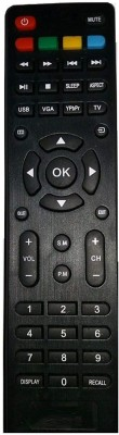 EHOP Unic Best Quality LED, LCD, TV RMT28 Haier Remote Controller(Black)