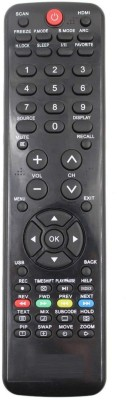 EHOP Unic Best Quality LED, LCD, TV RMT30 Haier Remote Controller(Black)