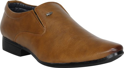Aroom Slip On For Men(Tan