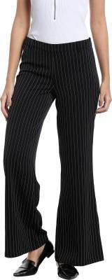 Vero Moda Regular Fit Women Black Trousers