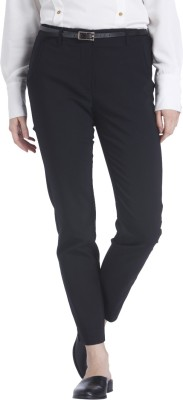 Vero Moda Regular Fit Women Black Trousers at flipkart