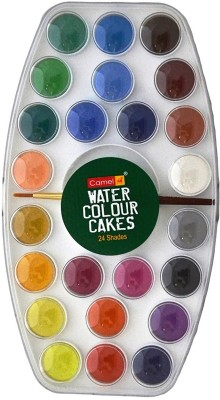 Camel Student Watercolor Cakes - 24 Shades