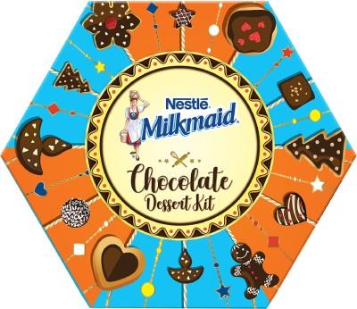 Nestle Milkmaid Chocolate Dessert Kit Cocoa Powder(450 g)