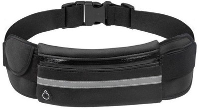 SAFESEED Pouch for Mobile Phones, Universal Cycling / Running Waist Bag(Black, Waterproof, Cloth)
