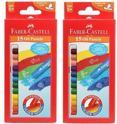 Faber-Castell 2 Croyan Color(Multicolor)