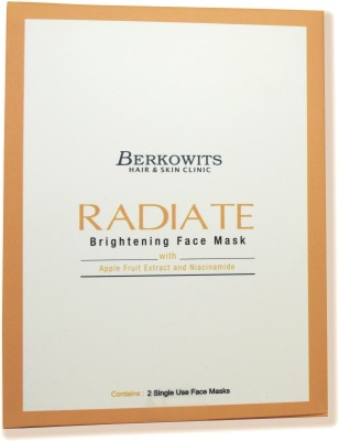 Berkowits Radiate- Brightening Face Mask with Apple Fruit Extract and Niacinamide(82 g)