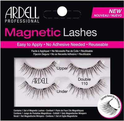 Ardell Professional Magnetic Double Strip Lashes, 110 Black(Pack of 1) Flipkart