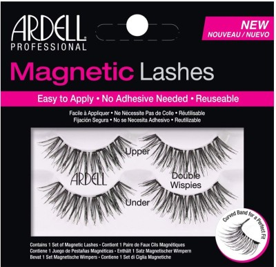 Ardell Professional Magnetic Double Strip Lashes, Wispies(Pack of 1) Flipkart