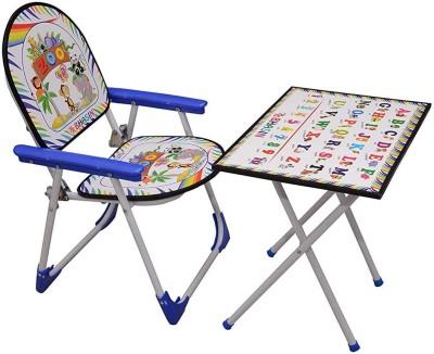 GTB Solid Wood Desk Chair(Finish Color - Blue)