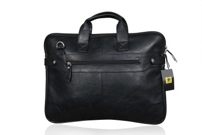 URBANITY 15 inch FIFTEEN INCHES Expandable Laptop Messenger Bag Black
