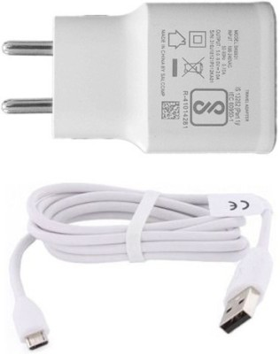 OPPO Wall Charger Accessory Combo for Original Charger with Data Sync Micro USB Cable for Oppo F1S, F1 PLUS, FIND 7/ 9, F3, A59S, R9 Like Original Charger Best Seller Garg Associates(White)