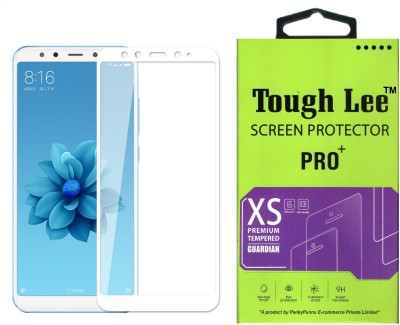 Tough Lee Edge To Edge Tempered Glass for Mi A2(Pack of 1)