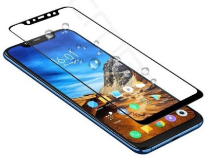 Ultra Clear Edge To Edge Tempered Glass for POCO F1(Pack of 1)