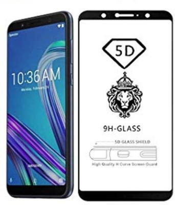 NaturalBuy Edge To Edge Tempered Glass for Asus Zenfone Max Pro M1 (5D Tempered glass)(Full Glue)(Pack of 1)