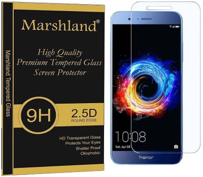 Marshland Tempered Glass Guard for Honor 8 Pro(Pack of 1)