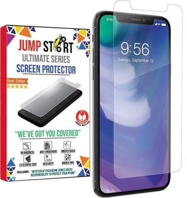 THE JUMP START STORE Tempered Glass Guard for Apple iPhone XS(Crystal Tempered)(2.5d Arc Edge Screen Protector)(Pack of 1)