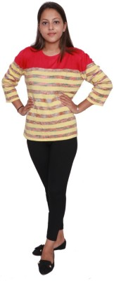 Forever Glam by Pantaloons Solid Round Neck Casual Women